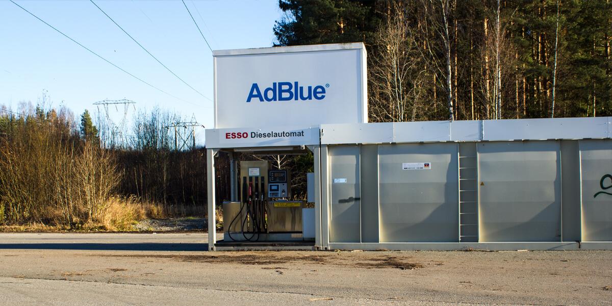 Dieselautomat ved Follum