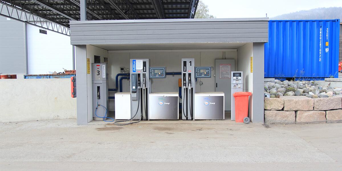 Dieselautomat i Solbergelva